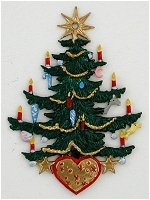 Christmas Tree with Heart